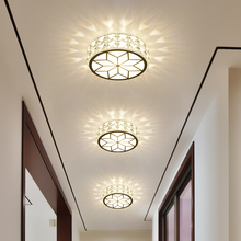 Crystal lamp LED Bulbs corridor Ceiling door home lamp LED ceiling lamp hole downlight aisle porch LU62244 ZL400(China)