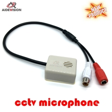 Mini CCTV Microphone Sound Monitor kit Audio pick up device For DVR The CCTV Accessories