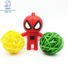 Buy Hot Free Spider Man Hero Disk USB Stick Pendrive Stick Device USB Flash Drive 128GB 64GB 32GB 16GB 8GB 4GB Pen Drive for $2.95 in AliExpress store