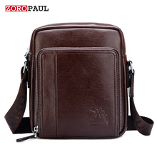 ZOROPAUL Crossbody 201 Bag Men's Designer Handbags High Quality Shoulder Small Male Fashion Leather Vintage Men Messenger Bags(China)