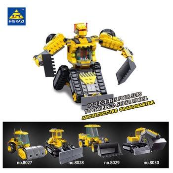 KAZI blocs de construction machines série D'éducation des blocs Jouet Pour Enfants intelligence jouet de fantaisie