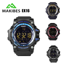 Makibes EX16 Smart watch 5ATM Waterproof IP68 Heart Rate Monitor Smartwatch Pulse Sports Fitness Tracker for Android iOS