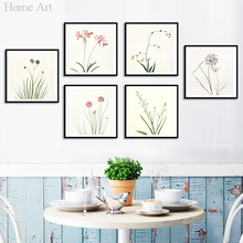 Canvas Printings Posters High Definition Good Quality No Frame Waterproof Vivid Color Nordic Style Home Decoration 91610(China)