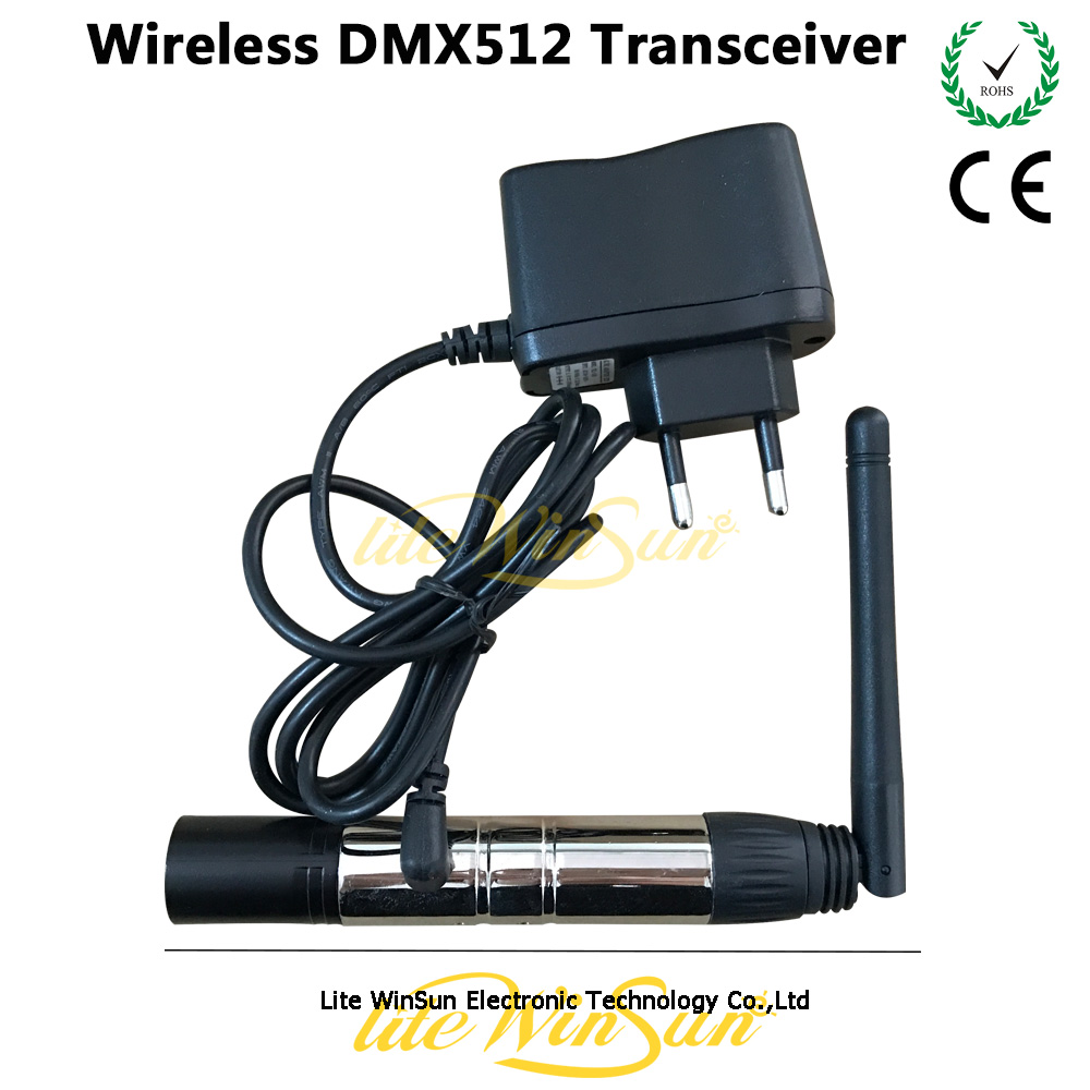 Litewinsune 1pc FREESHIP DMX512 Wireless Transmitter Receiver Controller Stage Lighting Effect<br>