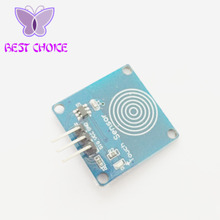 FREE SHIPPING 10PCS TTP223B Digital Touch Sensor Capacitive Touch Switch Module DIY For Arduino(China)
