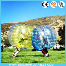Free shipping 1.0mm TPU 1.8m diameter indoor bubble soccer,giant inflatable ball,bubble sports for big heavy players