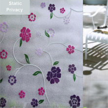 45*200cm/lot Decorative Films Privacy Static Window Film Stained Printing No Glue Water Transfer Printing Film ST005