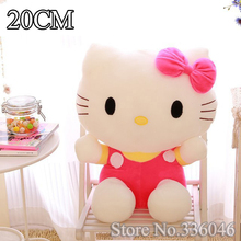 Cheap High Quality 20cm Plush Hello Kitty Toy Pillow, plush toys for children kids baby toy, lovely doll hello kitty toy gift