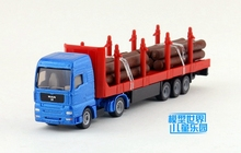 (3pcs/lot) Wholesale Brand New Siku 1/87 Scale Germany MAN Timber Transport Wagon Truck Diecast Metal Car Model Toy