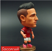 Kodoto 2015 Season 2.55 Inches Height Football Player Dolls United 11 Januzaj Figure Red Kit Collection Gift