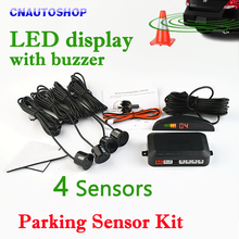 Buy Viecar Car LED Parking Sensor Kit 4 Sensors 22mm Backlight Display Reverse Backup Radar Monitor System 12V 8 Colors for $10.05 in AliExpress store