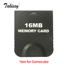 16MB Black game GC Memory Card for Gamecube & Wii Console System Storage GC for Nintendo