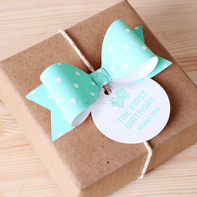 Hot sale Chocolate packaging decoration/tin ornament thing/packing box bowknot ornaments /95pcs