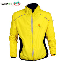 WOSAWE 2016 Men Motorcycle Reflective Safety Vest Car Motorbike Suits for Racing Mtb Outdoor Sports Jackets Coat Yellow Color