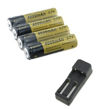 Rechargeable 18650 4000mAh Battery 3.7V Universal Battery Charger 10440 14500 16340 18650 26650 NiMH NiCd Li-ion Battery