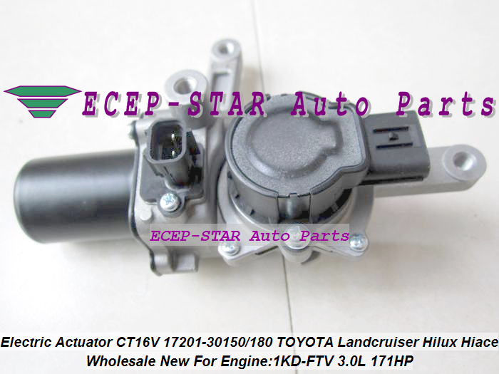 Turbo Electric Solenoid Actuator CT16V 17201-30150 17201 30180 For TOYOTA Hi-lux Landcruiser KZJ90 KZJ95 VIGO 1KD-FTV 3.0L 2.5L (3)
