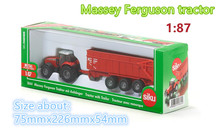 SIKU/Diecast Metal Models/The simulation toys :Massey Ferguson tractor/for children's gifts or for collections/1:50 Scale(China)