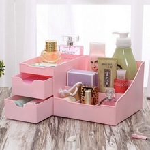 Large MakeUp Jewelry Cosmetic Dresser Drawer Storage Box Organizer Desk Storage Box Organizer