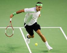 "Roger Federer Tennis star Watercolor inkjet Fabric poster 32"" x 24"" 17""x13""--002(China)"