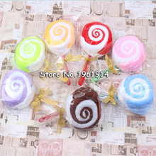 30pcs/lot Lollipop Towel Festive Birthday Party Favor Present Gift Home Decorative Accessories Supplies Gear Stuff Product