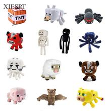 XIESPT Minecraft Toys Soft Stuffed Doll Cartoon Animal Plush Toy Brinquedos Children Kids Gift Free Shipping