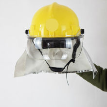 Free Shipping Can Resistant 300 Degree PEI Anti Fire Fire Fighting Safety Helmet For Fireman
