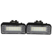 2 Pcs Xenon White License Plate LED Light No Error for Mercedes Benz W203 W211 W219 Car-styling Xenon White LEDs High Quality(China)