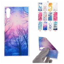 Cartoon Flower Butterfly Bear Tree Cute Back Cover Silicon Gel Soft TPU Mobile Phone Case For Sony Xperia XZ Z3 Z5 X COMPACT cas