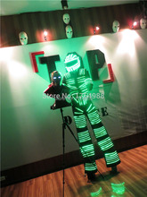 Event  Party Supplies led light up Robot  dance LED David Guetta Kryoman Robot luminous led robot for party dance show