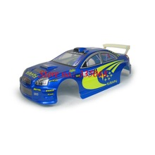 HENGLONG 3851-1 RC EP car Lightning 1/10 spare parts No. 01002 Blue Car body shell / car shell / car body