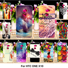 Painted Plastic Phone Cover Case For HTC One X10 E66 5.5 inch Cases X10 E66 Covers Housings Mix-Color Style Hard Shell Phone Bag
