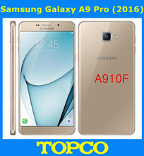 "Samsung Galaxy A9 Pro 2016 Duos A910F Original Unlocked 4G LTE Dual Sim Mobile Phone 6.0"" 16MP A910F Octa Core RAM 4GB ROM 32GB(China)"