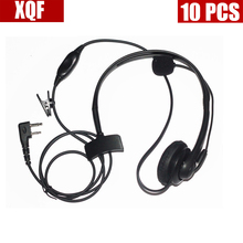 10PCS Maximal Power 2 Way Radio Surveillance Earpieces for ICOM 2 Pins Plug, Compatible For ICOM F3G, F4G, F11, F11S, F14, F14S(China)