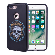 Pirate Pattern Case For IPhone 7 7 Plus Soft And External Hard 2 In 1 Ultimate Protect Case For IPhone 7Plus Phone Case For Boy(China)