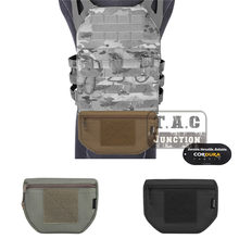 Emerson Tactical Armor Carrier Drop Pouch EmerosnGear поясная сумка-Органайзер Сумка передний карман корпус Броня пластина переноска жилет(China)