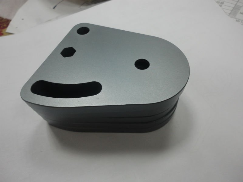 CNC machining  ---Grey anodized Parts<br>