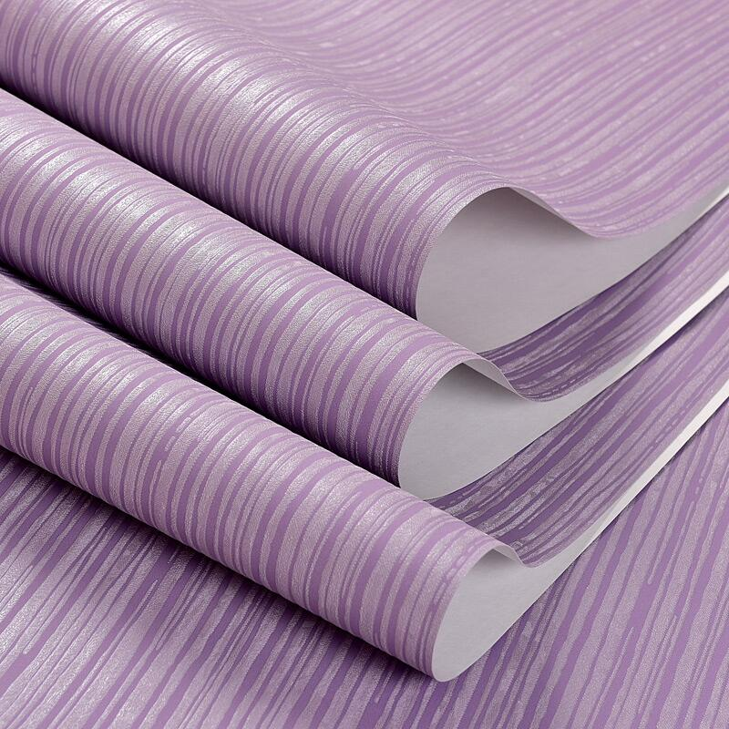 Modern minimalist stereoscopic 3d coining plain wild vertical stripes woven wallpaper warm living room bedroom wallpaper<br>