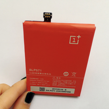 Newest High Quality Battery BLP571 For Oneplus One 1+ One plus 3000mAh Mobile Phone Batterie Rechargeable Accumulator