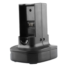 Gasky Dual Battery Charger Charging Dock Holder Fit for Microsoft Xbox 360 Controller Black Video Games Chargers(China)