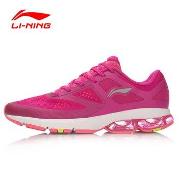 Li-Ning Amortissement des Chaussures de Course Respirant Chaussures De Sport Demi de Femmes Air Sole Sport Chaussures ARHL092 XYP455