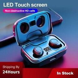 Беспроводные Bluetooth-наушники с шумоподавлением, на батарейке 3500 мАч