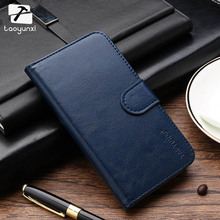 TAOYUNXI Flip Phone Case Cover For Apple iPhone 4 4G 4S 44S iphone44s iPhone4 Wallet Case Card Holder Bag Leather Hood Shield(China)