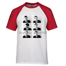 men raglan t shirt o-neck TWIN PEAKS men T-SHIRT AGENT DALE male top tees summer fashion gift