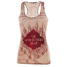 Buy Summer Sexy tank top workout marauders map 3D print sleeveless tops Girl singlet Women camisolas for $7.49 in AliExpress store