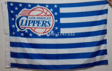 Los Angeles Clippers NBA  Flag hot sell goods 3X5FT 150X90CM Banner brass metal holes LAC2