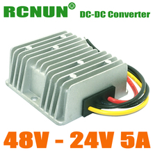 DC to DC Converter Regulator 48V to 24V 5A 120W Step Down Power Module DC/DC Converters