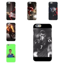 Antoine Griezmann France Soccer Star Soft TPU Silicon Design Phone For Apple iPhone 4 4S 5 5C SE 6 6S 7 7S Plus 4.7 5.5
