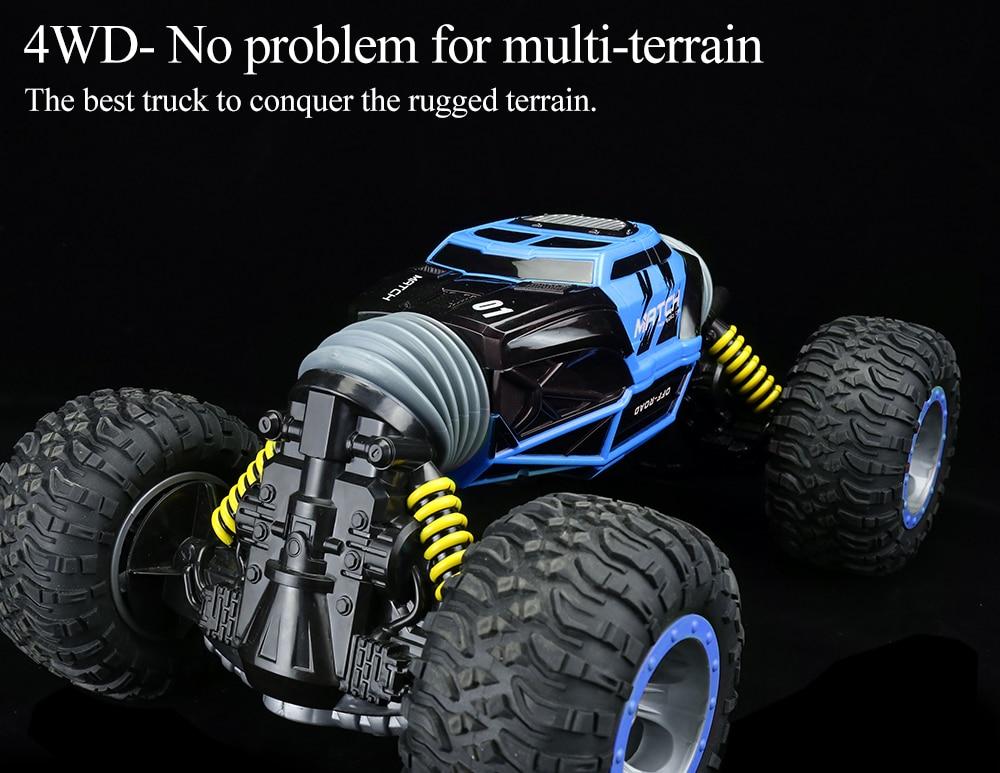 4WD Crawl Off Road Truck _05