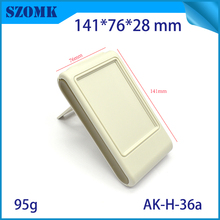 1 piece, 141*76*28mm szomk plastic desktop enclosure electronics box with bracket high quality instrument case pcb housing box