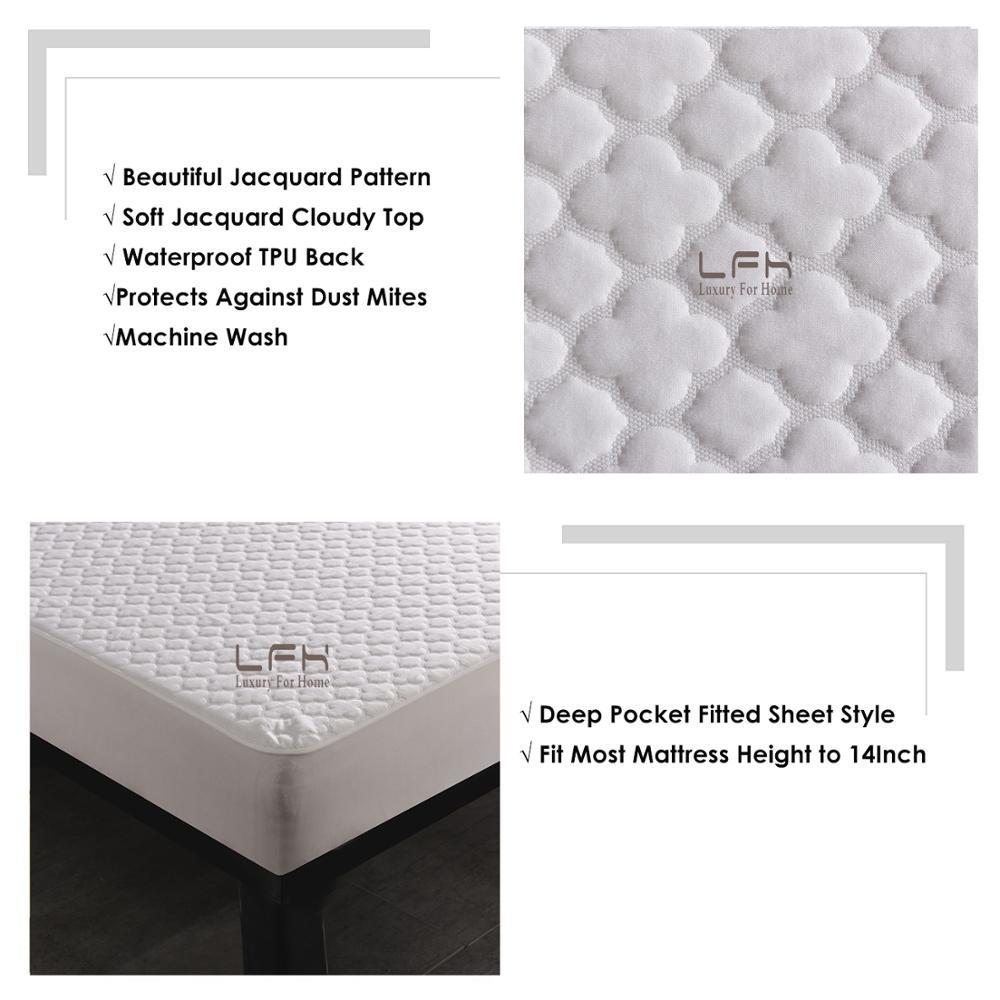 jacquard cloudy mattress pad cover (1)